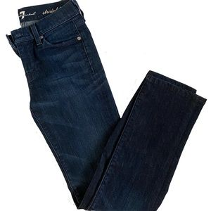 7 for all mankind jeans - straight leg size 24